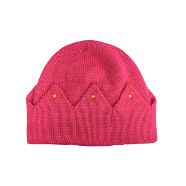 Crown Hat  Berry