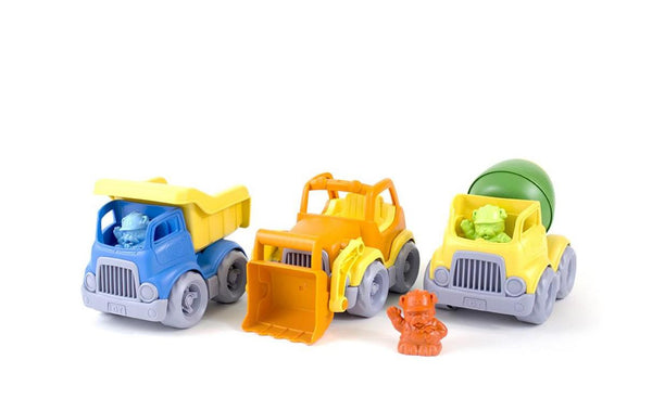 Construction Vehicle 3-Pack by Green Toys