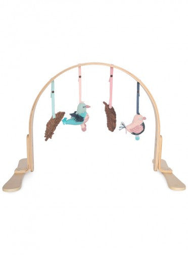 Feather Wooden Play Gym  Light Birch