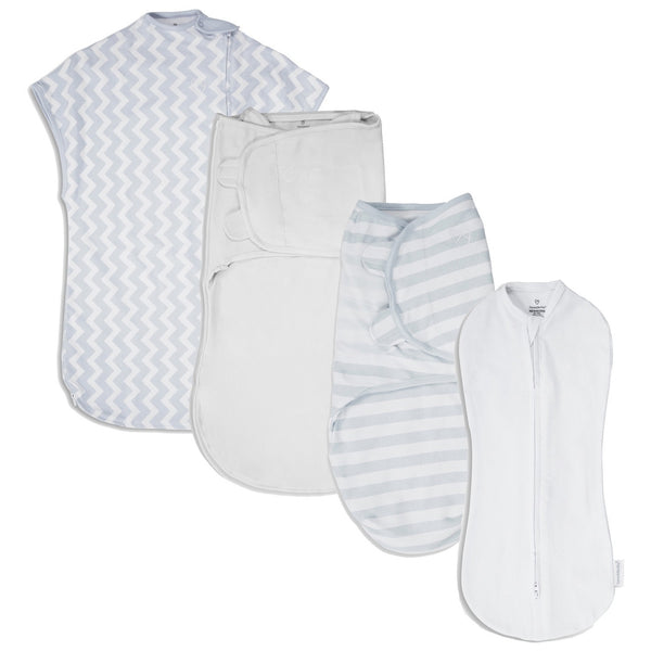 Summer Infant SwaddleMe 1st Year Safe Sleep Gift Set, Grey