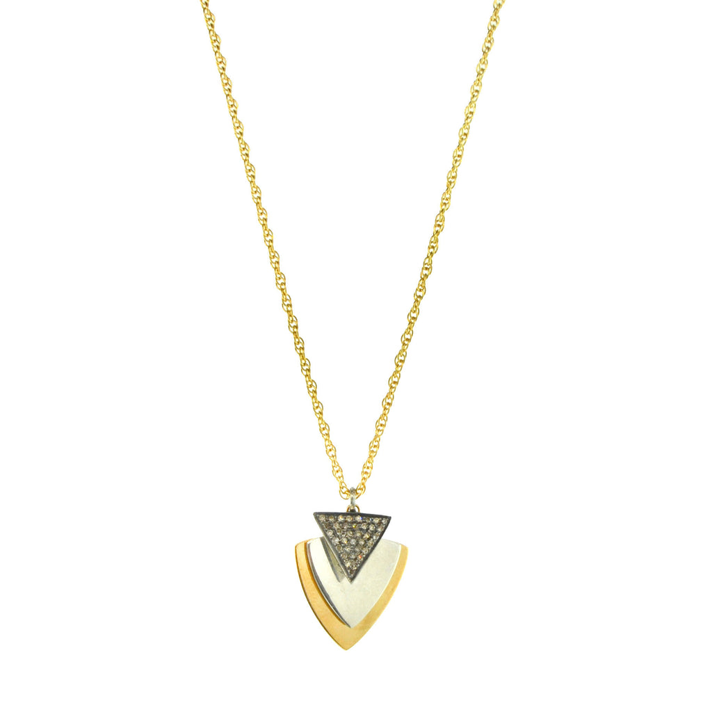 Triangle Charms Necklace