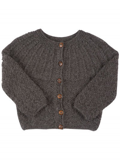 Diamond Cardigan  Dark Grey
