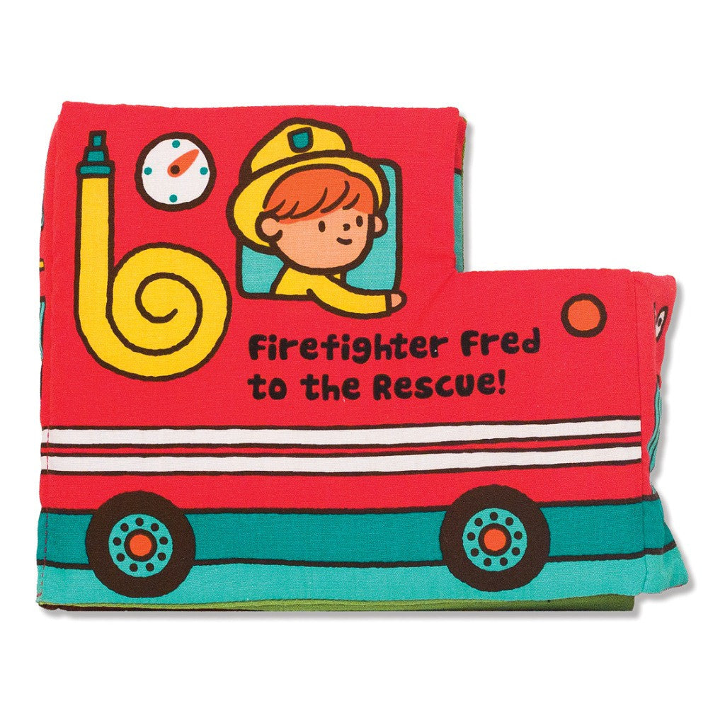 Melissa & Doug Soft Activity Book Firefighter Fred to the Rescue
