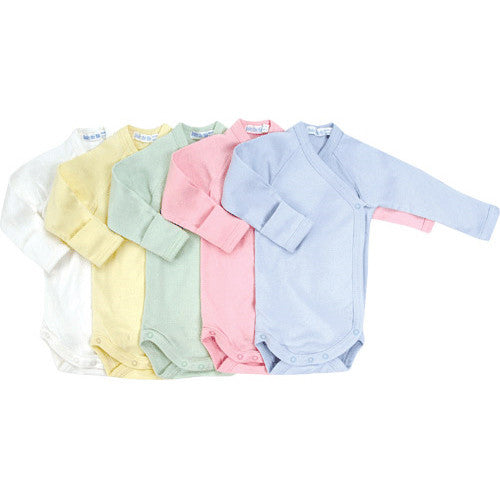 Long Sleeve Side Snap Babybody - Solid