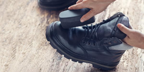 Removing salt stains from footwear