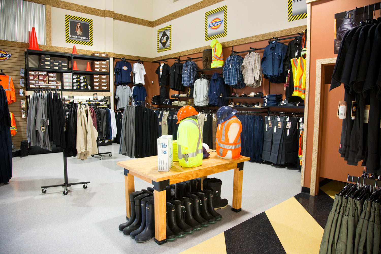 Work Authority Retail Interior