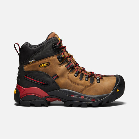 "Keen Hamilton 6"" Men's Waterproof Hiker Safety Boot - Composite Toe"