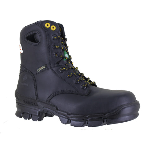 "Terra Stratton 8"" Men's Composite Toe Waterproof Safety Boot - black"