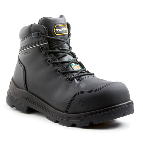 "Terra Men's 6"" VRTX 6000 Composite Toe Safety Work Boots"