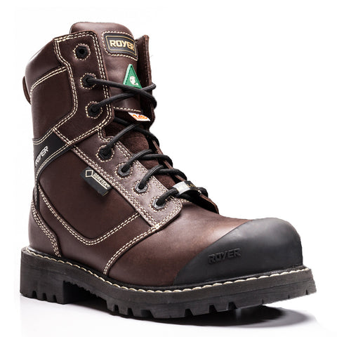 "Royer Dlx 10-9922 Men's 8"" Steel Toe Work Boot"
