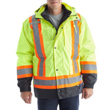 TERRA Hi-Vis 7 in 1 Men's System Jacket