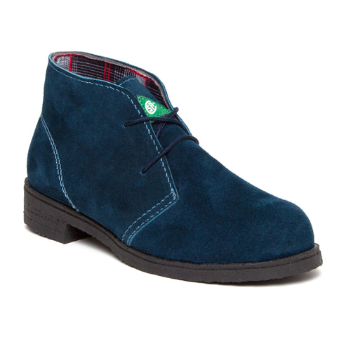 Feather Desert Blue Women's Steel Toe Suede Work Boot