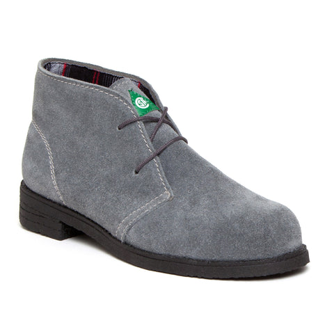 Feather Desert Grey Women's Steel Toe Suede Work Boot
