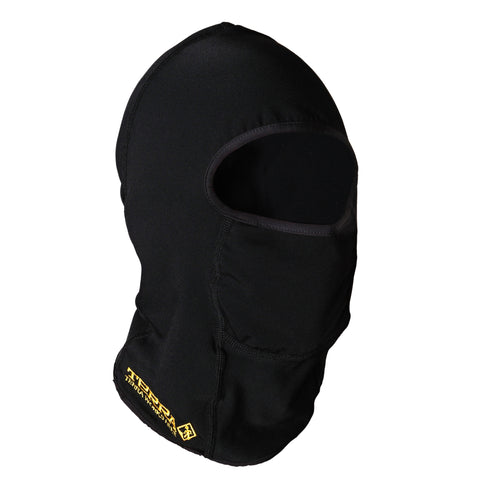Terra Black Balaclava With Fleece Interior