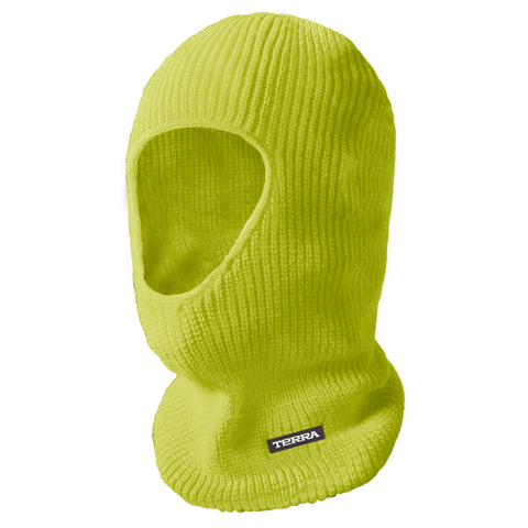 Hi Vis Balaclava 1 Hole - Yellow