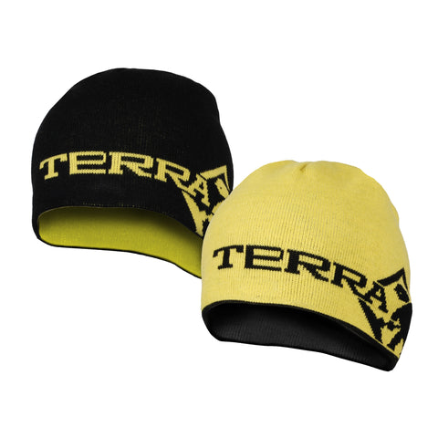 Terra Reversible Beanie - Black/Yellow