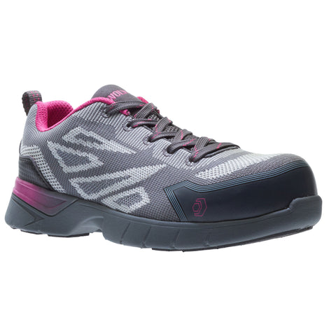 Wolverine Jetstream 2 Women's Composite Toe Athletic Work Shoes - pink