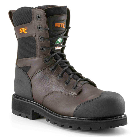 "STC Creston Men's 8"" Composite Toe Work Boots"