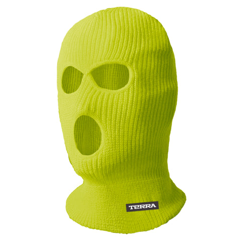 Hi Vis Balaclava 3 Hole - Yellow