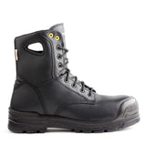 "Terra Men's 8"" Argo Black Waterproof Safety Boot - black"