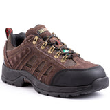 Kodiak Stamina Men's Steel Toe Hiker Work Safety Shoe - Brown