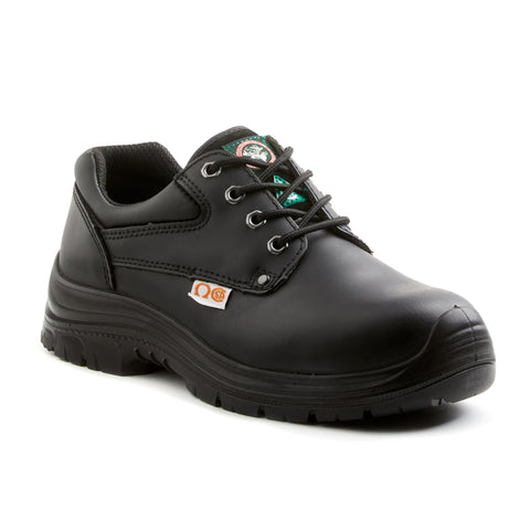 Moosehead Men's Black Casual Oxford Composite Toe Safety Shoe
