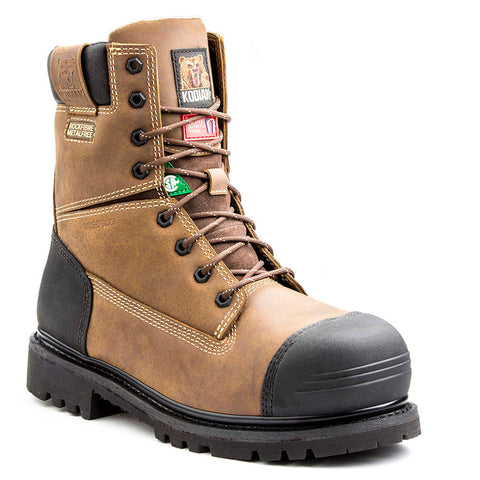 "Kodiak Blue Monster 8"" Men's Composite Toe Safety Boot - Brown"