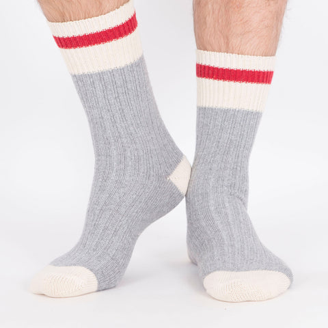 Kodiak Men's 2PK Cotton Work Socks - Grey
