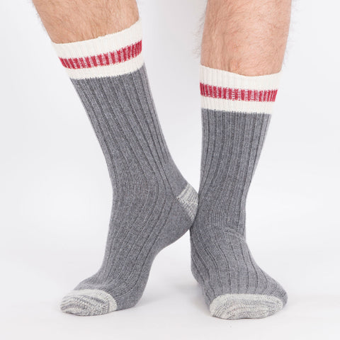 Kodiak Men's 2PK Wool Blend Work Socks - Grey