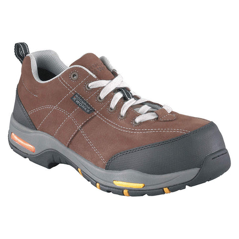 Rockport Works Prompter Men's Composite Toe Athletic Work Shoe - Brown