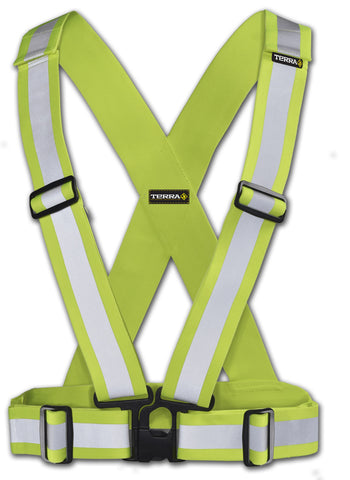 Terra Hi Vis Safety Work Belt