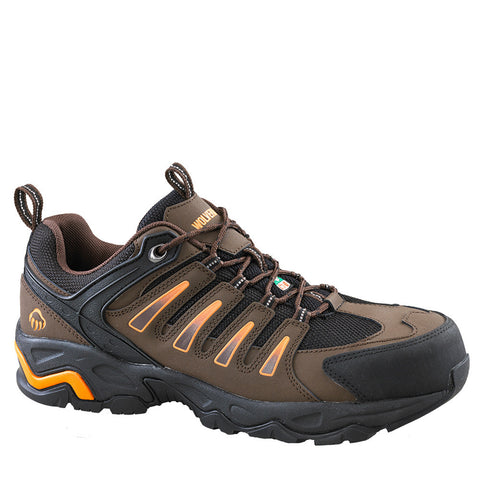 Wolverine Gazelle Men's Steel Toe Athletic Work Shoe - Brown