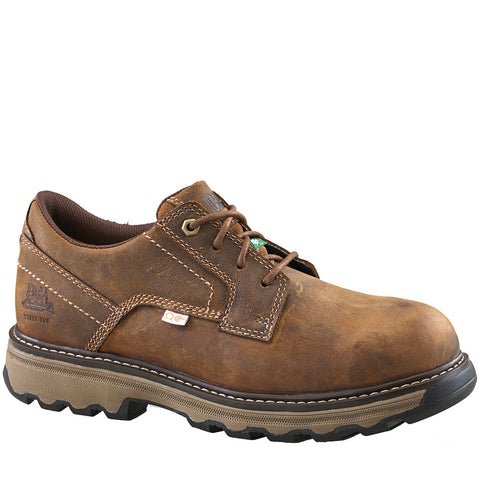 CAT Tyndall Men's Brown Steel Toe Work Shoe