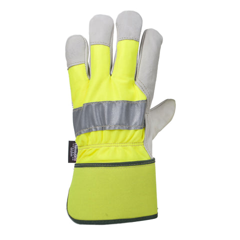 Horizon Hi Vis Cowhide Work Glove