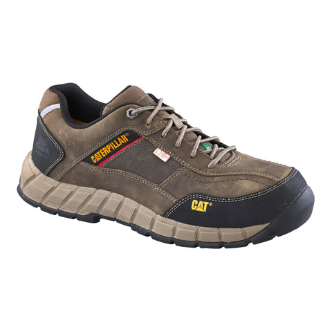 CAT Streamline Men's Lightweight Composite Toe Leather Work Shoe