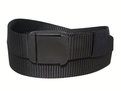 Web with PVC Buckle - black
