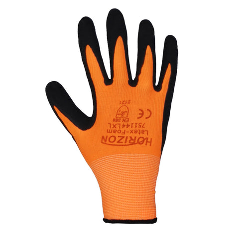 Latex Foam Hi Vis Glove
