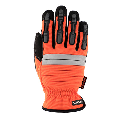 Terra Men's Hi Vis Mechanic Glove