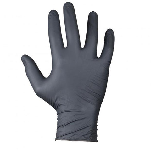 Nitrile 5mil Disposable Gloves - 100 Gloves - Powder Free