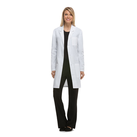 Dickies Unisex Lab Coat in white