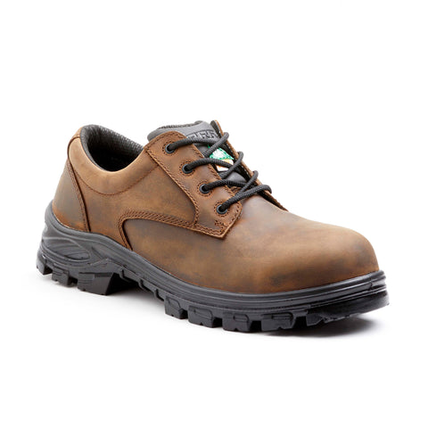 Terra Albany Men's Composite Toe Work Shoe - Brown