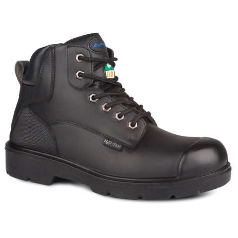 "Acton 6"" Profiber Unisex Steel Toe Work Safety Boot"