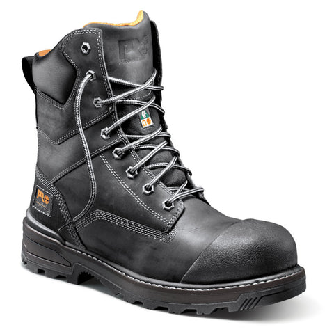 "Timberland PRO Resistor 8"" Men's Composite Toe Safety Work Boots - black"
