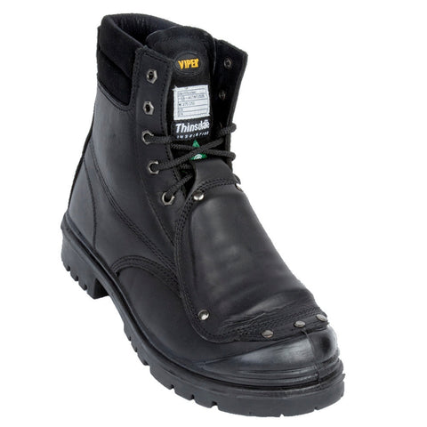 "Viper Hager With Met Guard Men's 6"" Steel Toe Work Boot"