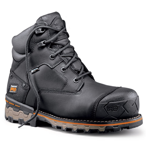 "Timberland PRO Boondock 6"" Men's Composite Toe Safety Boot - black"