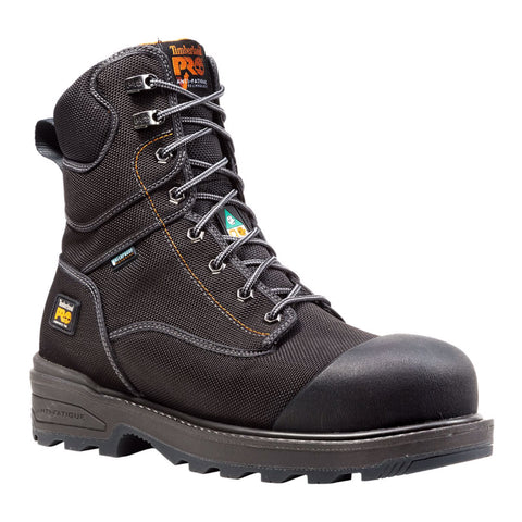 "Timberland PRO 8"" Men's Resistor with Ballistic Nylon Composite Toe Work Boot"