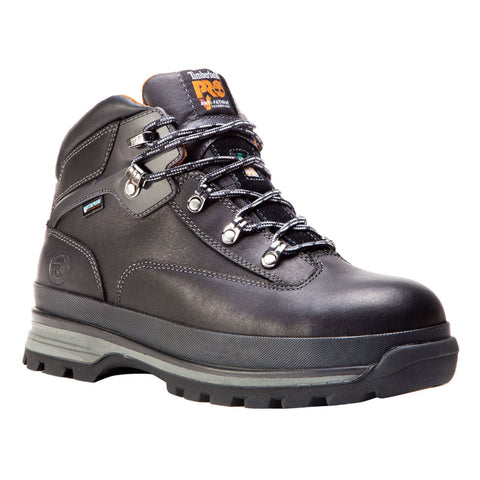 bf9b53ec9fa Timberland PRO Euro Hiker Men's Steel Toe Work Safety Boot - Black ...