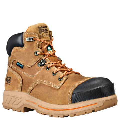 "Timberland PRO 6"" Endurance HD Composite Toe Men's Work Safety Boot - tan"