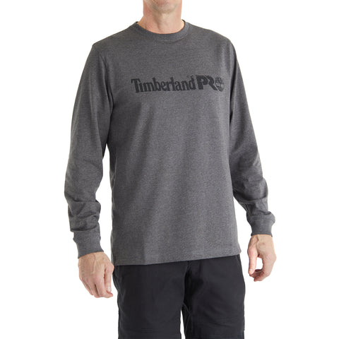 Timberland PRO Cotton Core Long Sleeve Chest Logo Tee