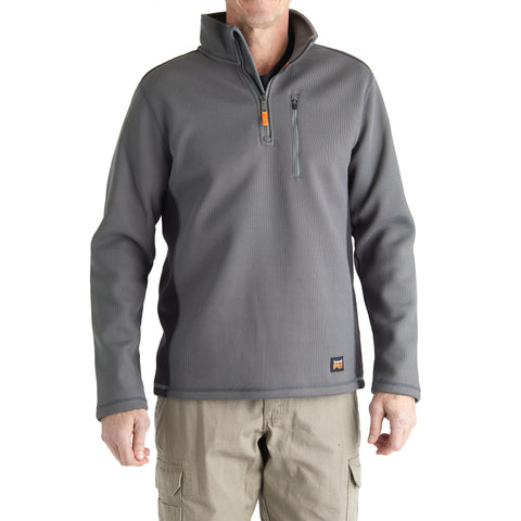 Timberland PRO Men's Studwall 1/4 Zip Textured Fleece Top